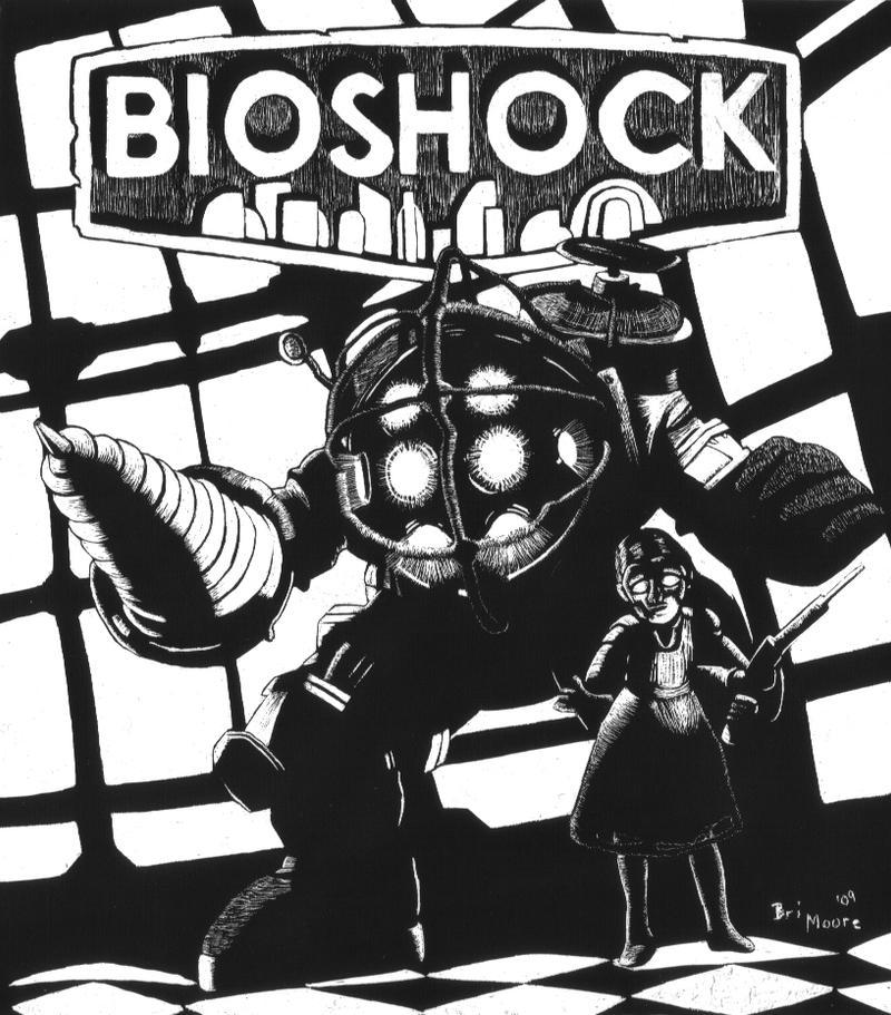 Bioshock Scratch by generalbrievous