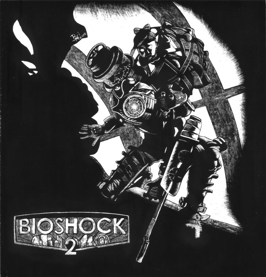 Bioshock 2 Scratchart by generalbrievous
