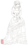 Oh my princess Lineart