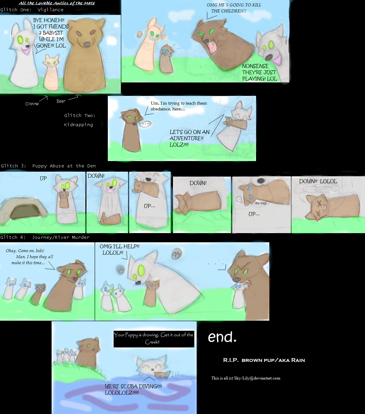 Wolfquest explore wolfquest on deviantart nucozih 188 98 wolfquest mate glitches by the skykian archives ccuart Choice Image
