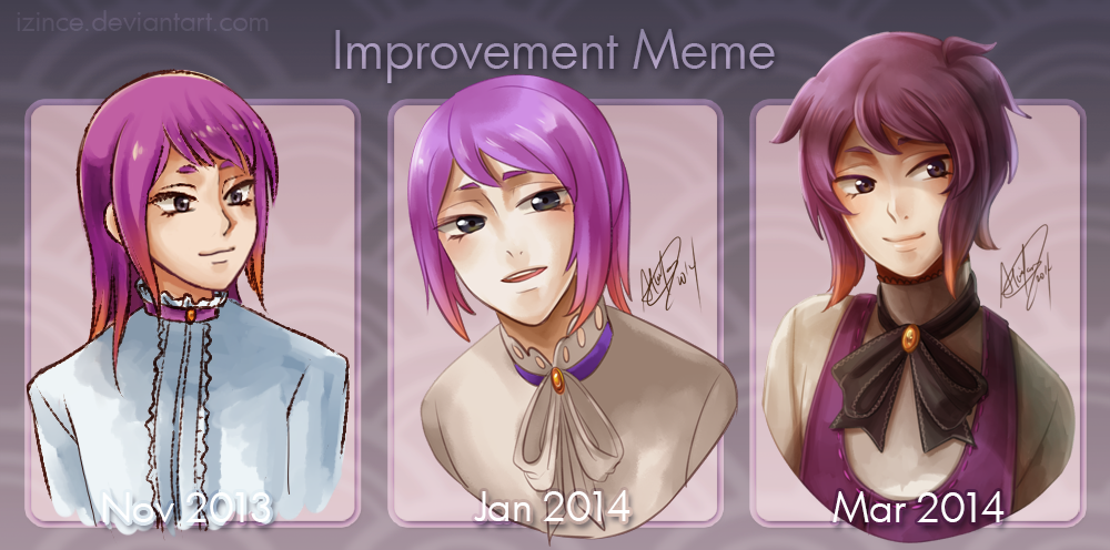 Improvement Meme I guess by iZince