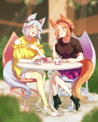 Comm: Sharing Tea by iZince