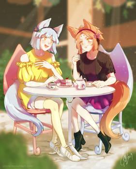 Comm: Sharing Tea