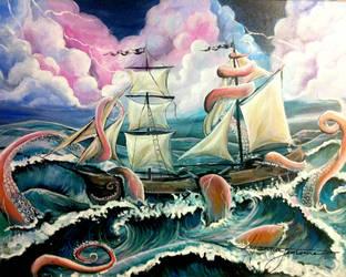A Smooth Sea Never Made a Skilled Sailor by hannalemoine