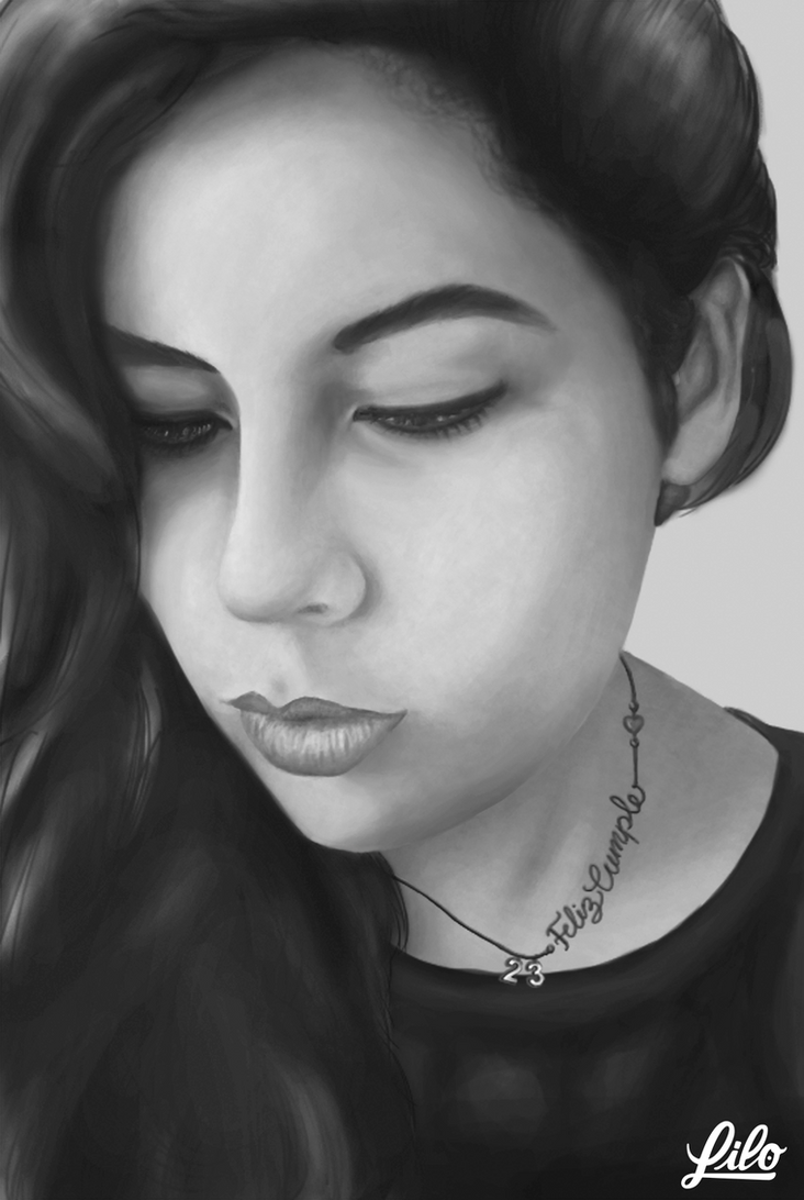 Digital Portrait by Lilo-5