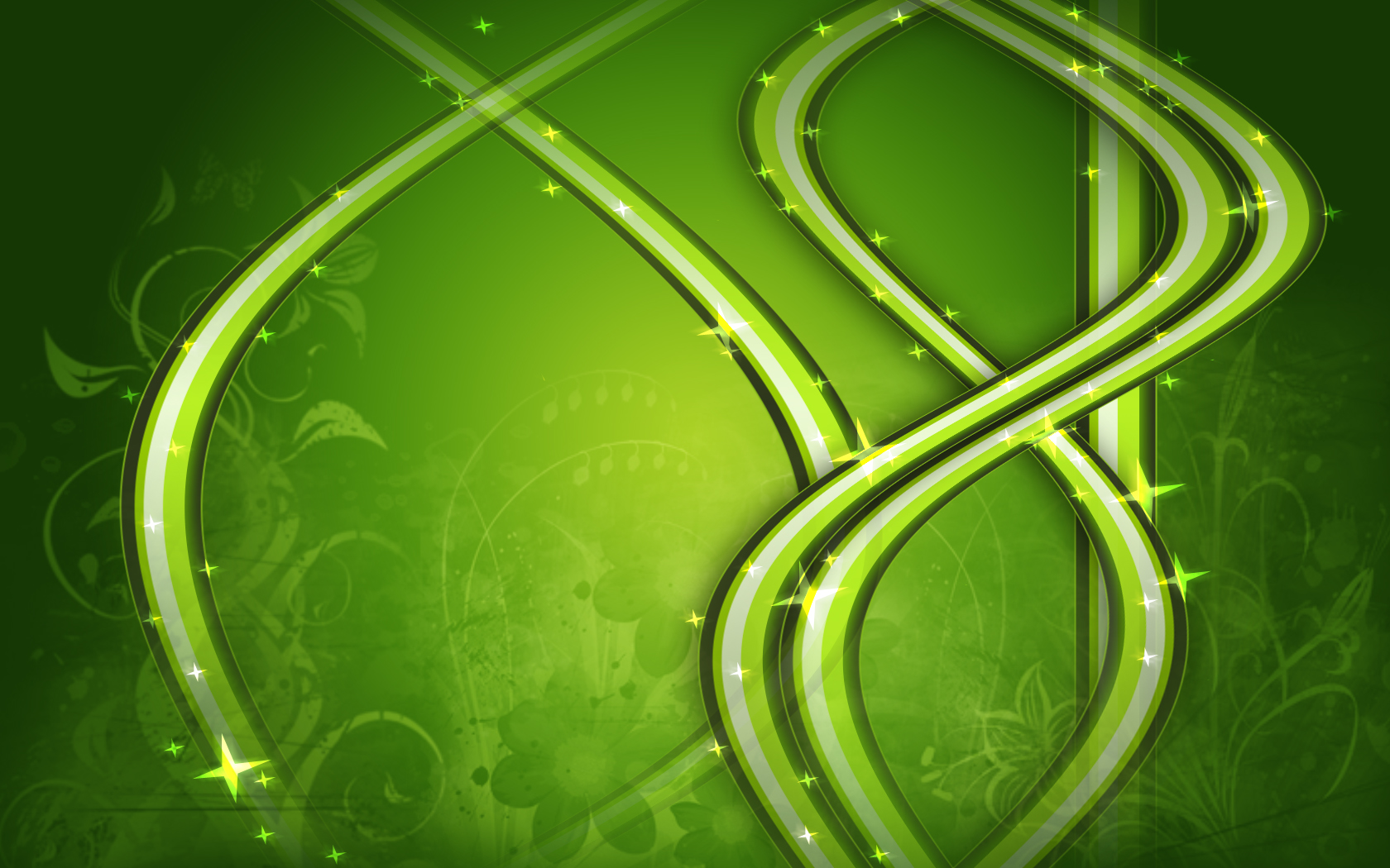Green abstract by gapipro