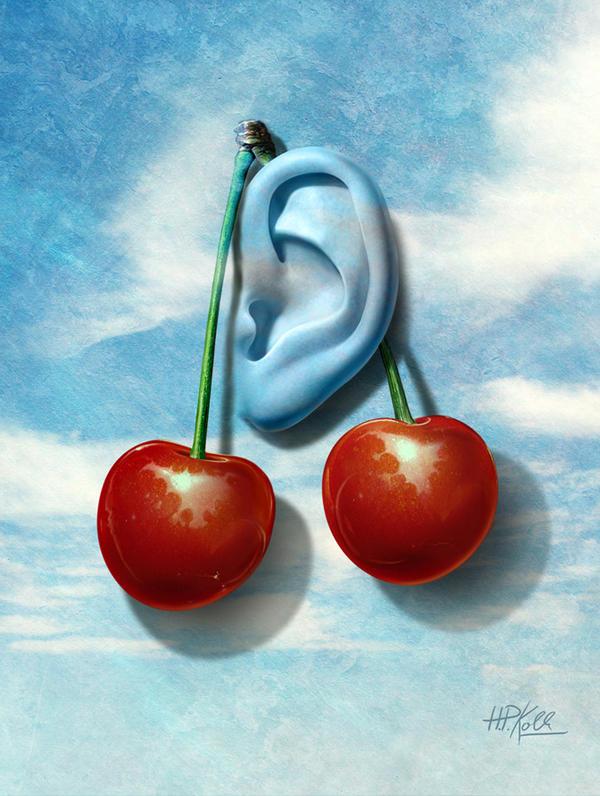 The Ear by HansPeterKolb