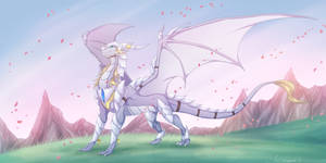 Commission Wind of glory by WrappedVi
