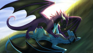 Commission Good morning! by WrappedVi