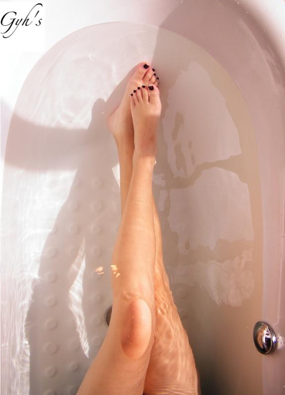 Legs in the tub by gohyinghui
