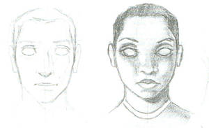 Some people sketches by Ccandy