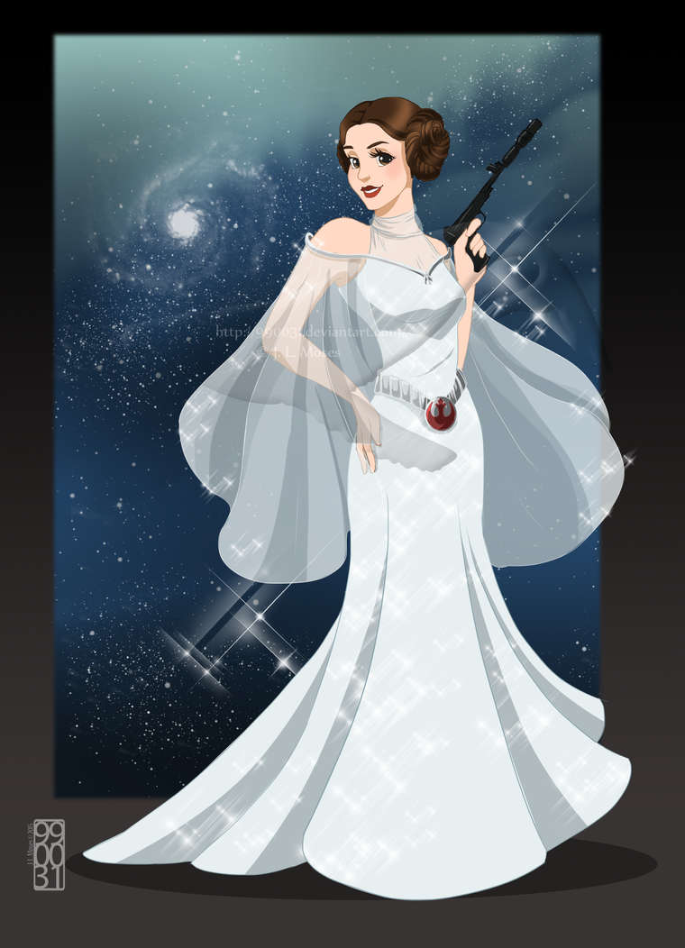 Disney Princess Leia by 990031 on DeviantArt