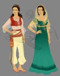 C: Darya Outfit Design
