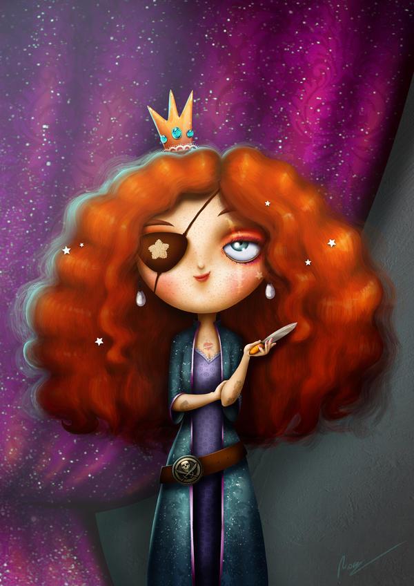 Morgan, Pirate Princess by RocioGarciaART