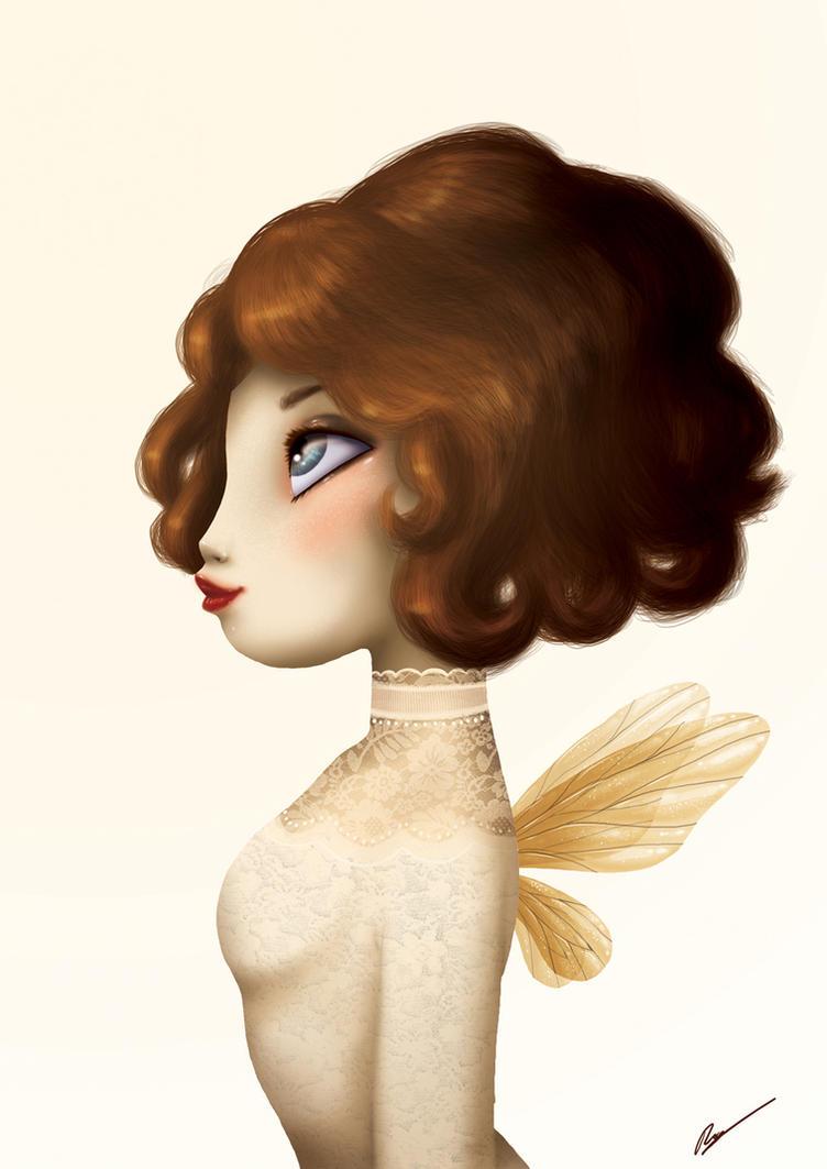 Vintage Fairy by RocioGarciaART