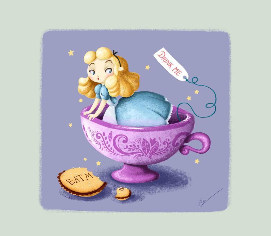 Alice in Wonderland. Disney by RocioGarciaART