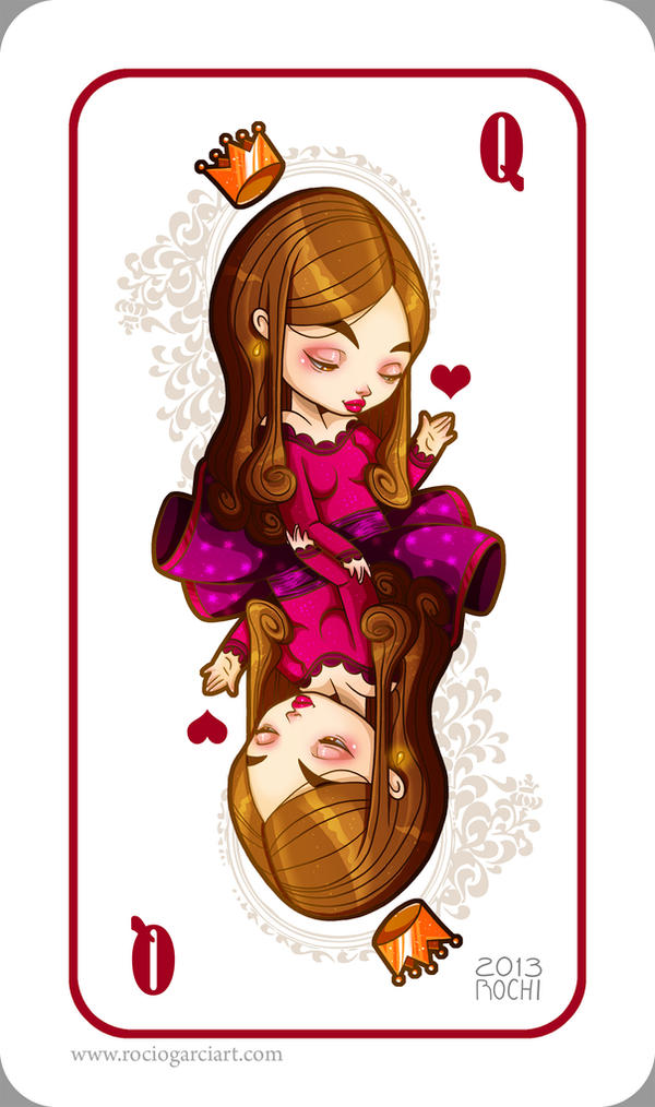 Heart Card by RocioGarciaART