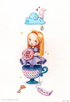 Alice in Wonderland by RocioGarciaART