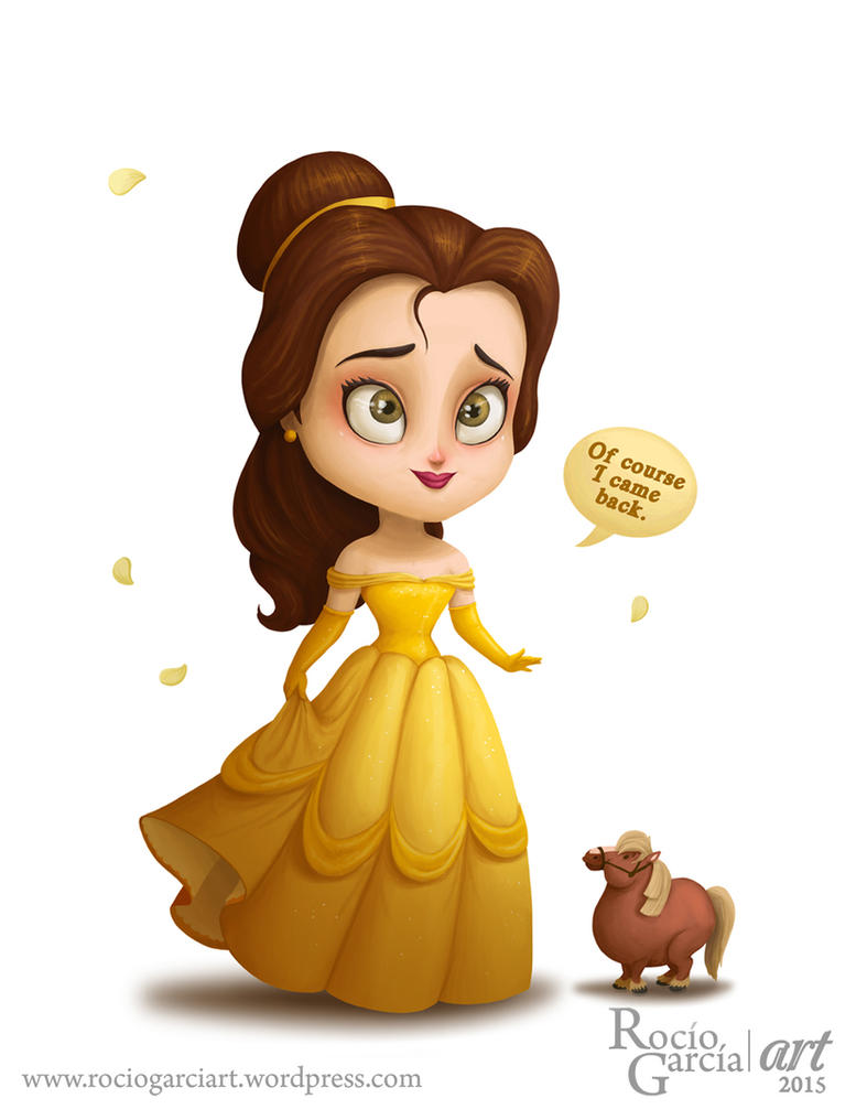 Bella - Disney by RocioGarciaART