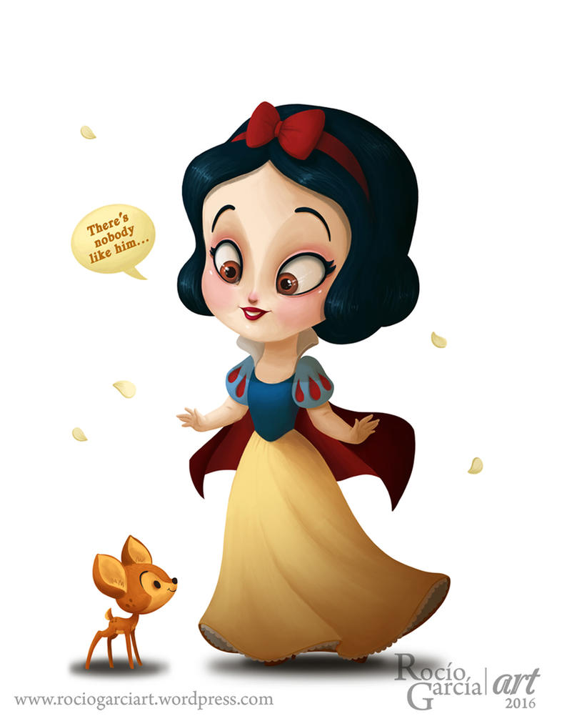 Snow White - Disney by RocioGarciaART