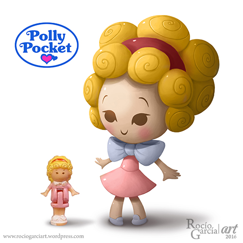 Polly Pocket! by RocioGarciaART
