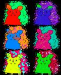 Cheap Cute  Hedgehogs Adopt (Open!) by lunaato