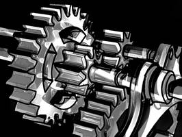 Gears Colorless