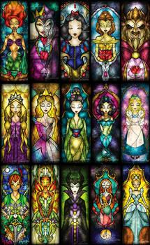 100 Classic Character Panels SET I