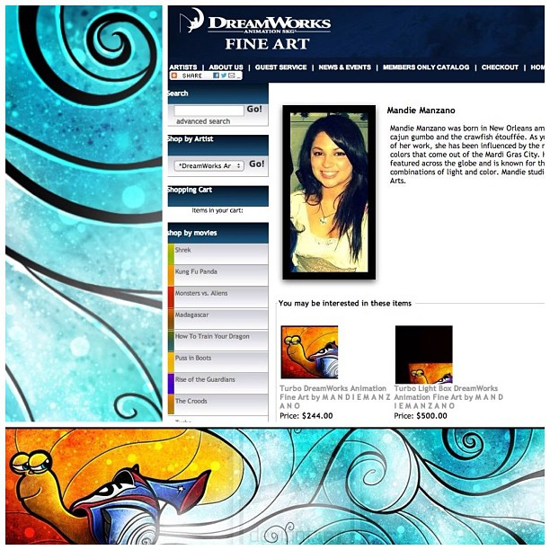 :) It's Official! DreamWorks Fine Arts by mandiemanzano