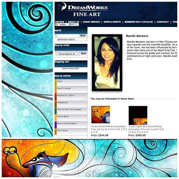 :) It's Official! DreamWorks Fine Arts by mandiemanzano