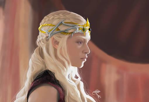 Daenerys Targaryen Queen of Meereen