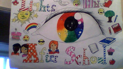 Colorful Eye: Lights On After-School