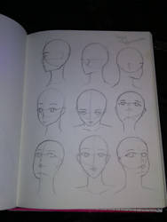 Anime Head Angle Reference