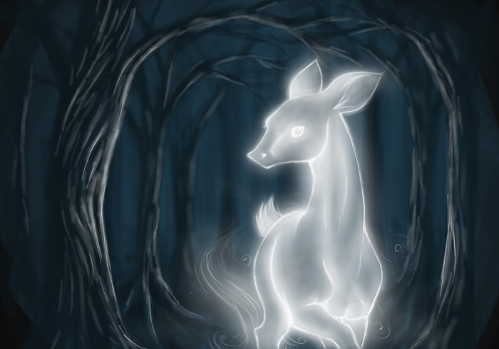 The Silver Doe: HP by bananaslug77