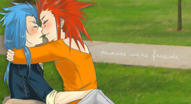 KH: because we are friends by irrefutability