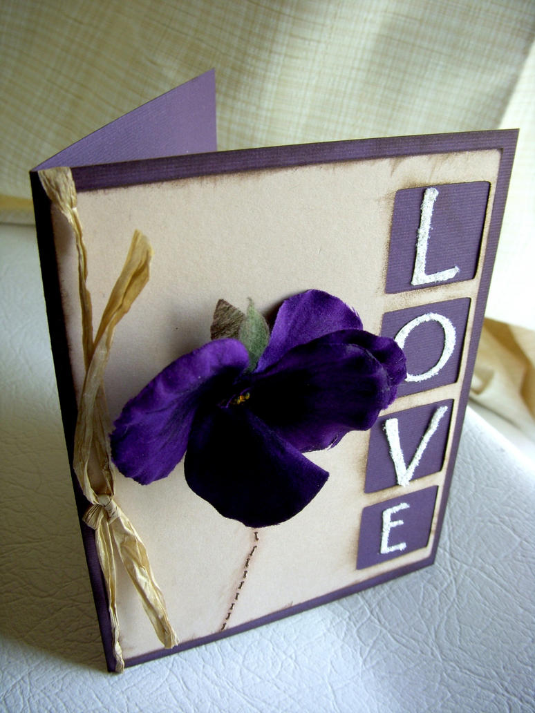 Love Handmade Greeting Card By Satelliteheartetsy On Deviantart