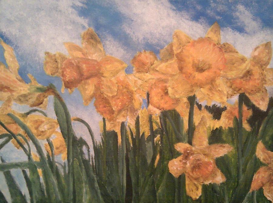 Daffodils. by HaanaArt
