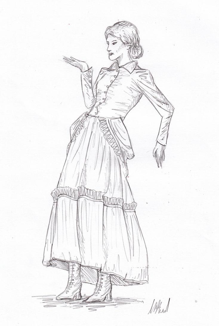 Sketch: Steampunk Style by HaanaArt