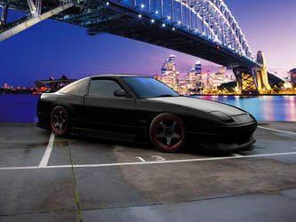 Nissan 180sx Smooth Carbon by Brittegil