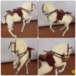 SM Scale Spanish Tack Set by Puffinfire