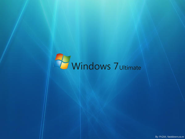 windows 7 backgrounds. Part1 ( With Windows 7 text)