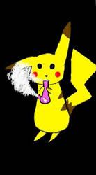 Pikachu by iluvAoi-Ayabie16