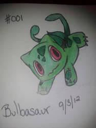 Bulbasaur by iluvAoi-Ayabie16