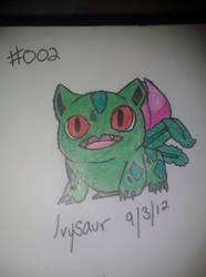 Ivysaur by iluvAoi-Ayabie16