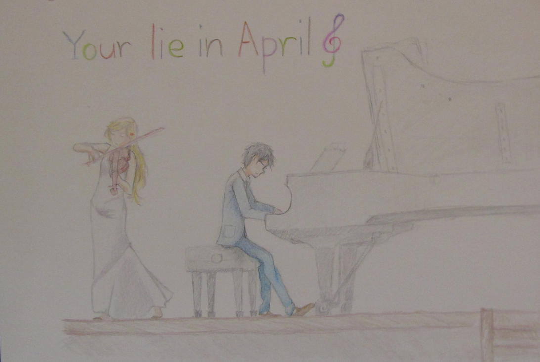 You lie in april by Eitari