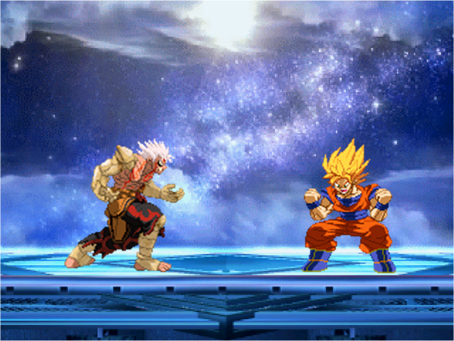 Asura vs Goku by BlackZero24 on DeviantArt