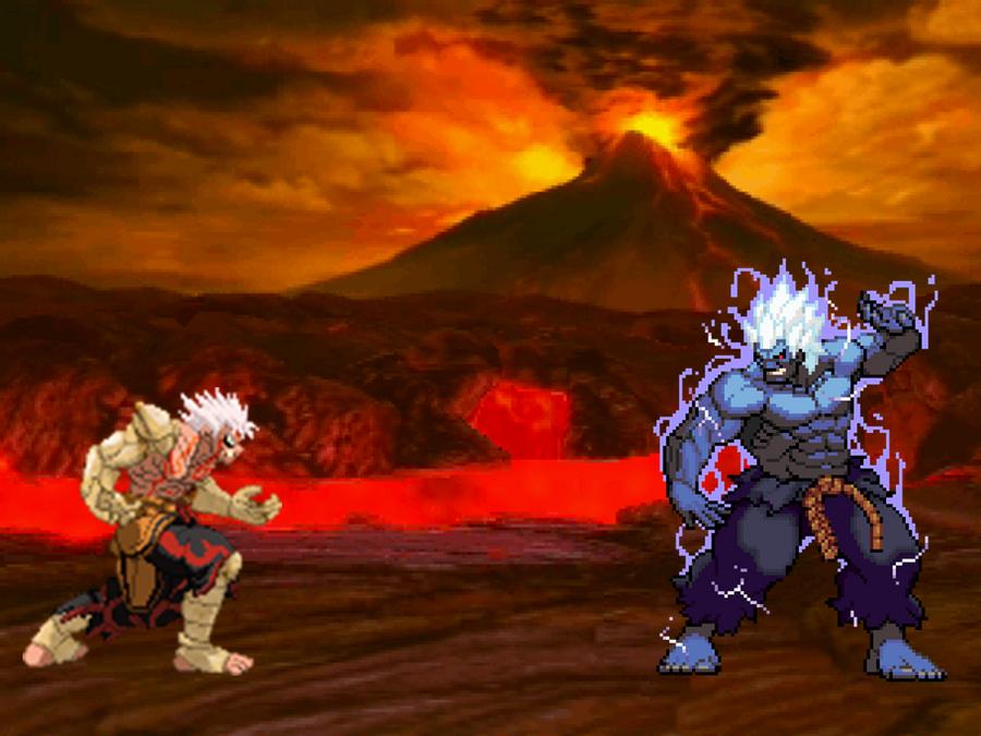Asura vs oni akuma by blackzero24 on deviantart - Akuma oni wallpaper ...