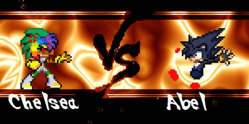 Chelsea vs Abel??? XD by BlackZero24