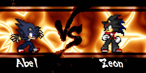 Clash of Rivals: Abel vs Zeon by BlackZero24