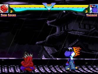Pocket Shin Gouki vs Yagoshi (Mugen Screenshot) by BlackZero24